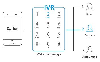 ivr system graph