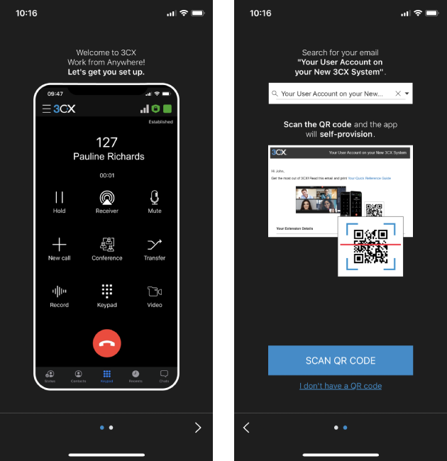 ios app startup wizard