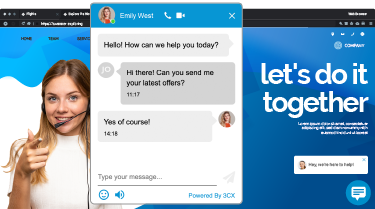 De chat web Chat