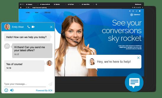 Live Chat Plugin Screenshot
