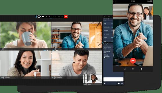 Video conferencing Screenshot