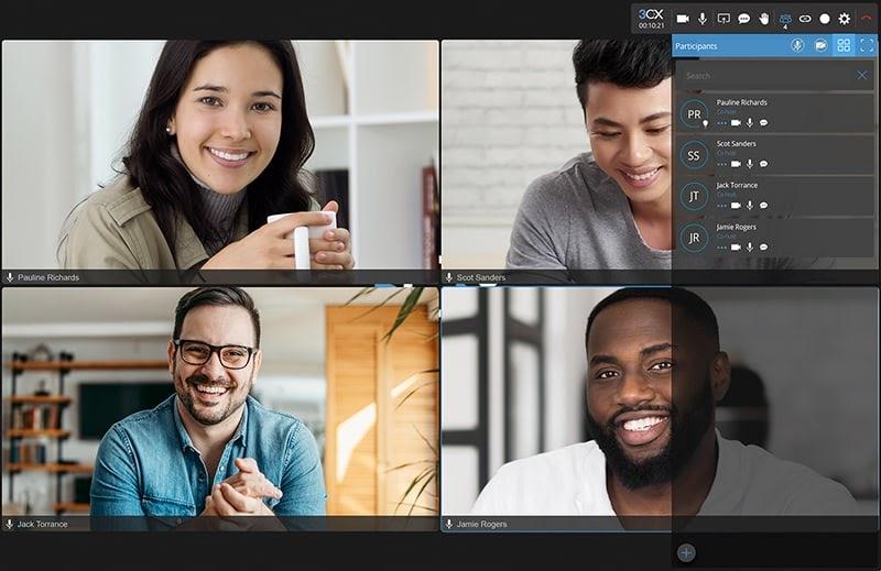 v18 video conferencing