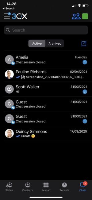 ios beta messaging