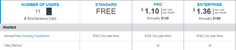 New prices screenshot