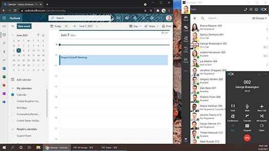 Microsoft 365 Integration with 3CX and Windows Desktop App