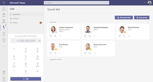 Microsoft Teams Integration Screenshot