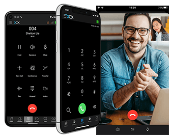 3CX Apps and Video Call in Smartphone
